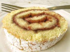Mrs. Beaver's marmalade roll cake