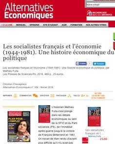 Christian Chavagneux Alternatives Economiques n° 354 - février 2016 France, Alternative, Politics, French