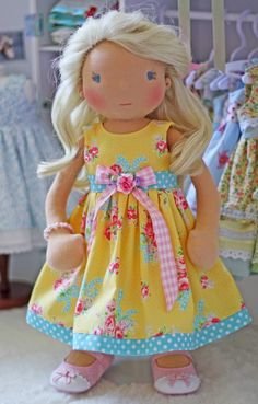 6 pretty little dresses will be uploaded into my Etsy shop today at 3pm EST. Last week, I was amazed when they all sold ...