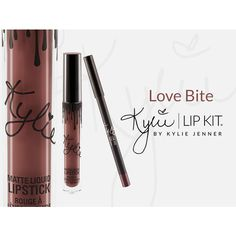 Love Bite Lip Kit ($29) ❤ liked on Polyvore featuring beauty products and makeup