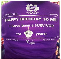 This is AWESOME! Let survivors display how long they've been a survivor!!