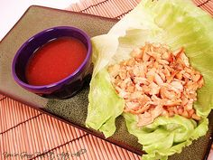 'P.F. Chang' Lettuce Wraps - the sauce is way off (I'm on the search for a better one) but the wraps and such are good.  I had Country Market grind chicken for it.