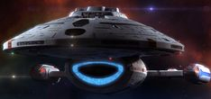 USS Voyager... Quite possibly my most favorite Trek universe starship.