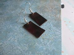 Handcut Leather Earrings - Free Shipping US
