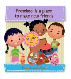 Preschool is a place to make new friends.