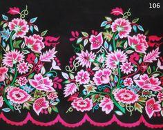 Refajo Labor tonos rosas y verdes varios en su matizado, de Monserrat lozano. Folk Embroidery, Embroidery Patterns, Murcia, Birds, Flowers, Diy, Hand Stitching, Barcelona, Clothing