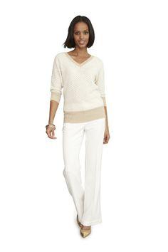 Worthington dolman-sleeve sweater