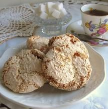 Polish almond cookies or amaretti are sweet flourless drop cookies that are perfect with tea or coffee.