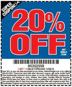 26 Best Harbor Freight 20 25 Off Coupons Images Air Tools