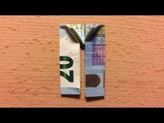 Geldscheine falten Hose - Lustige Geldgeschenke basteln: Hochzeit / Origami Kleidung aus Geld - YouTube