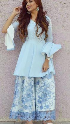 Summer pastels in Indian wear Pakistani Dress Design, Pakistani Outfits, Indian Outfits, Party Wear Dresses, Dress Outfits, Fashion Dresses, Dress Ootd, Dress Indian Style, Indian Dresses