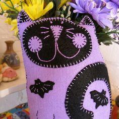Spooky Kooky Kat Plush/Mini Pillow