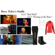 """""""Rose Tyler's Outfit from """"Bad Wolf"""" and """"Parting of the Ways"""""""" by erulisse17 on Polyvore"""