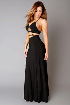 Head Turner Black Dress