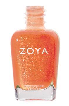 Collection ZOYA : Oc Cooler. Un orange doux, facile à porter. #zoya