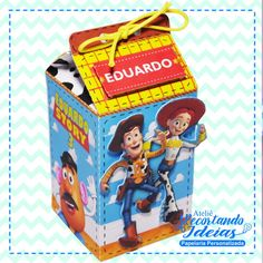 Caixa milk Toy Story Wood