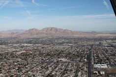 """From """"On Top Of The World"""" Restaurant in Las Vegas, Nevada"""