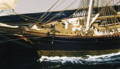 """Ship model """"Red Jacket"""" 1853 extreme clipper  From www.shipmodel.com"""