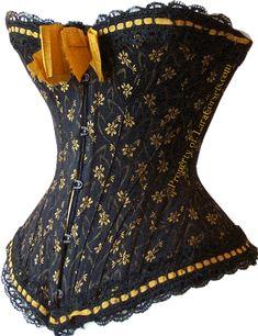 1890s corset