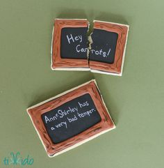 Anne of Green Gables Cookies sugar cookies