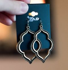 Stitch Fix Layna Spade Earrings- these are so perfect and so me!