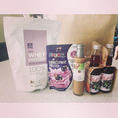 Regram of @sereba collection of goodies at the gluten free expo in the weekend included in it is our lean vanilla-berry protein! Thanks for the picture @sereba! #glutenfree #wheyprotein #cleanprotein #proteinpowder #postworkout #protein #nongmo #postworkout Whey Protein Powder, Plant Based Diet, Post Workout, Glutenfree, Berry, Vanilla, Goodies, Recipes, Collection