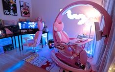 Gaming Computer Desk, Gaming Room Setup, Gaming Chair, Cool Gaming Setups, Best Gaming Setup, Gaming Rooms, Gaming Station, Certificate Frames, Game Room Design