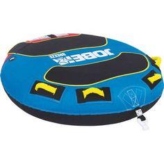 Jobe 230117005 Breeze 1 Person Deck Tube Inflatable Towable, Multicolor