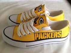 Women's Packers Shoes-BIG LOVE. Think I like these better than mine :(