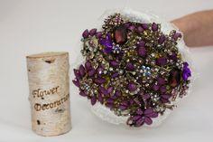 wedding bouquet brooch bouquet bridal bouquet от FlowerDecoration