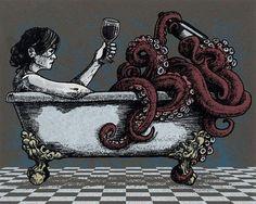 Alcohol + tentacles