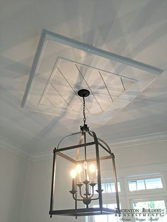 Ceiling Medallions Cool Polyurethane Rectangular Ceiling Medallion This With…  Track Design Inspiration