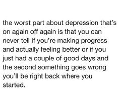 The worst part. Sad Quotes, Words Quotes, Quotes To Live By, Sayings, Depression Problems, Depression Quotes, Alone With My Thoughts, Deep Thoughts, Word F