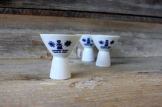 vintage japanese sake cups porcelain by umbrellafant on Etsy