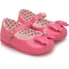 5b30feafa9 Sapatilha Bebê Pimpolho Charme Coração Pink Lisa