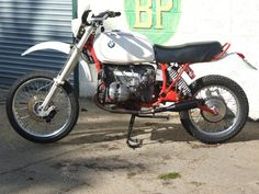 1977 BMW Motorcycles R100 RS  A Genuine HPN machine that raced in the Paris-Dakar in the early 80's