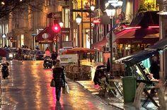 Rue Montorgueil in Paris, France. photo by Nichole Robertson