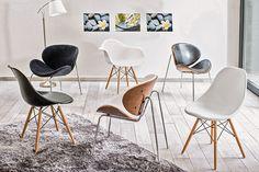 Las sillas retro pueden convertirse en un elemento más de tu decoración. Si tienes un espacio que decorar, pon una silla retro, un cuadro o poster atractivo, y listo. #SodimacHomecenter #Sodimac #Homecenter