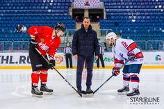 Hokejový zápas medzi Paneuropa Kings a Diplomats Pressburg