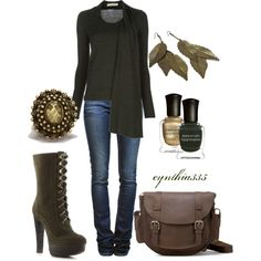 Olive, created by cynthia335 on Polyvore