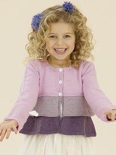 "Baby Knitting Patterns Sweter Knitted in yarn from Sublime www.no [ ""Knitted in yarn from Sublime ww. Baby Knitting Patterns, Knitting For Kids, Crochet For Kids, Crochet Baby, Crochet Patterns, Crochet Cardigan Pattern, Crochet Jacket, Sweater Patterns, Knit Cardigan"