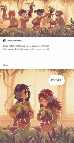 The Marauders – Snape and Lily by Space Dementia Die Rumtreiber – Snape und Lily von Space Dementia Harry Potter Comics, Fanart Harry Potter, Arte Do Harry Potter, Harry Potter Drawings, Yer A Wizard Harry, Harry Potter Jokes, Harry Potter Universal, Harry Potter Fandom, Harry Potter World