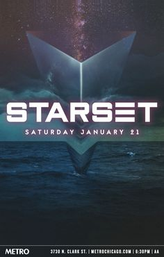 Starset | 1.21.17 | $16 Advance, $18 Day Of | Doors: 6PM / Show: 6:30PM | All Ages