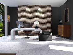 Projet de bureau de direction. Revêtement Zellige Morocco, Tiles, Architecture, Furniture, Collection, Business Ideas, Mosaics, Home Decor, Photography