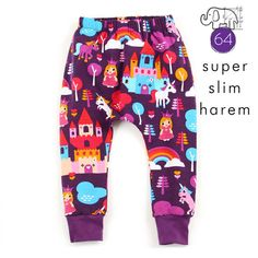 Slim harem pants sewing pattern pdf download by brindilleandtwig