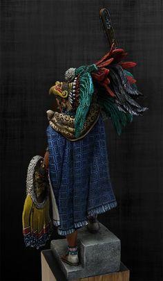 Aztec Statues, Renaissance, Aztec Warrior, Painting Words, Conquistador, Cosplay, Miniatures, Rifles, Diorama