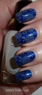 Zoya Song Stamped with Zoya Dove