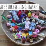 Fairytale Storytelling Basket - Fill a basket with characters you would need in a fairytale story.