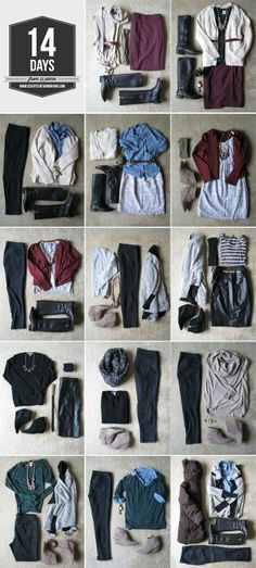 How to pack for 2 wks casual business trip