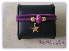 "Pulsera ""Purple Star"""